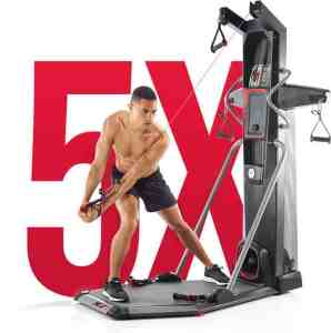 Bowflex HVT Trainer Hybrid Velocity Training Cardio and Strength Machine