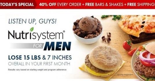 Nutrisystem for Men Plans