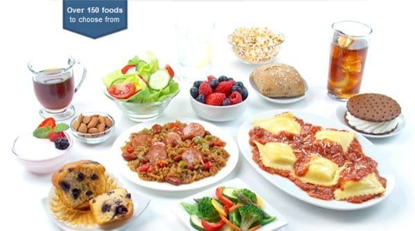 Sample Nutrisystem Food