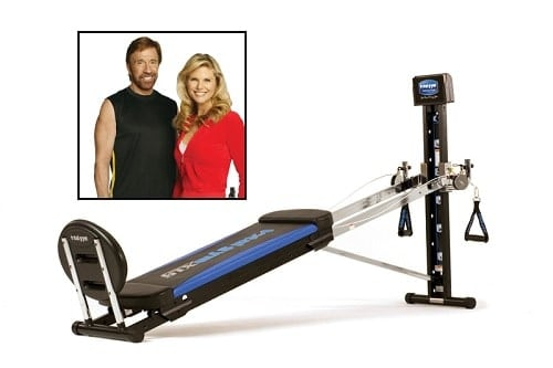 Total Gym Chuck Norris and Christie