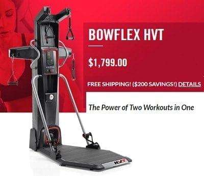 bowflex hvt new fitness machine