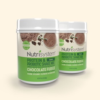 Nutrisystem Chocolate Fudge Protein Shake