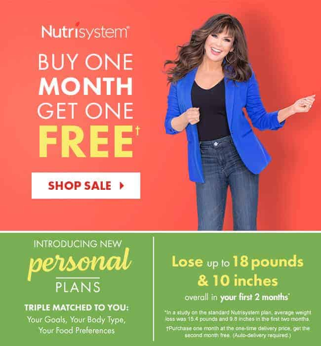 Nutrisystem New Personal Plans