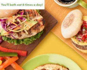 Nutrisystem 6 Meals