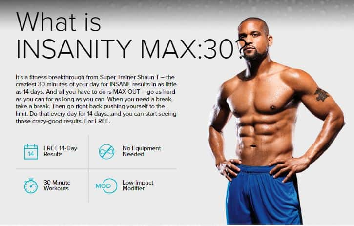 What is Max:30 from Beachbody