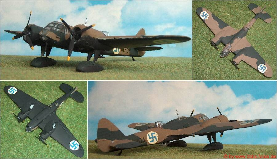 Plastik Modellbau Flugzeuge 172 Finnland 2 Weltkrieg