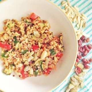 Recipe Redux: Fresh Veggie Quinoa Salad
