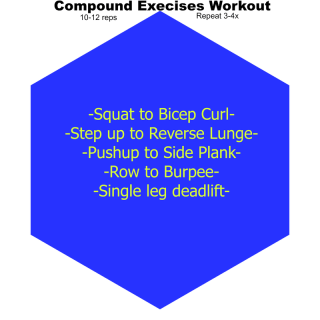 Compound Exercises Quick Workout