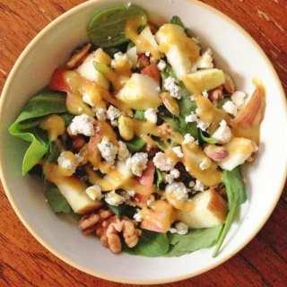 Crunchy Festive Salad with Tangy Vinaigrette
