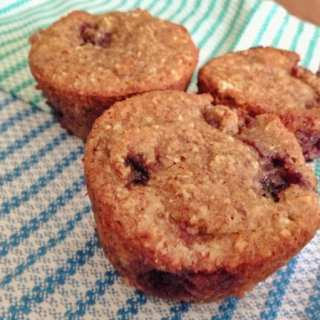 Blackberry Citrus Muffins (G-free)