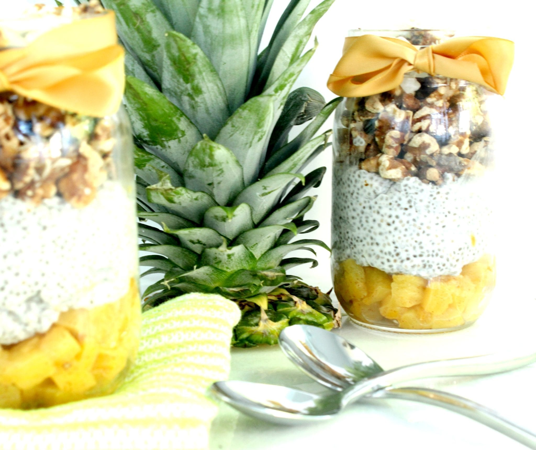 Chia Walnut Pineapple Parfait 3
