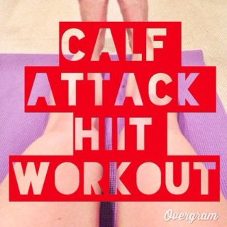 Calf Attack- HIIT workout