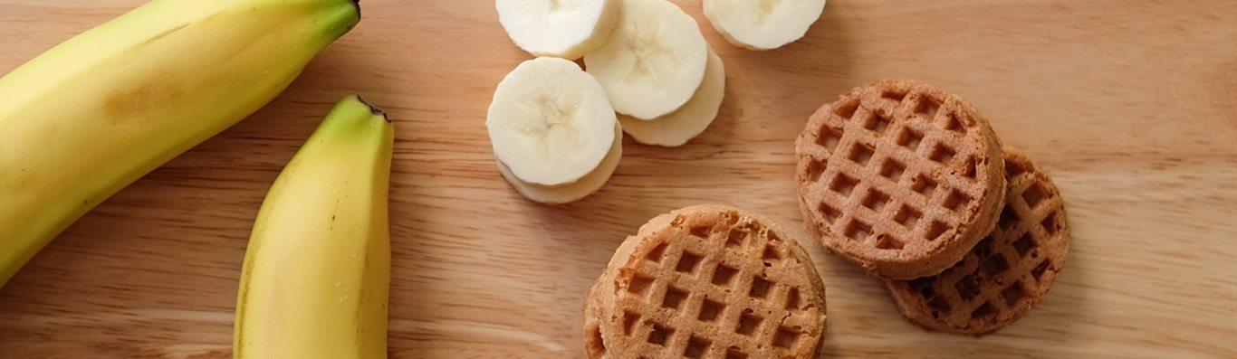 banana and honey minis