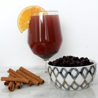 Wild Blueberry Hot Spiced Cider