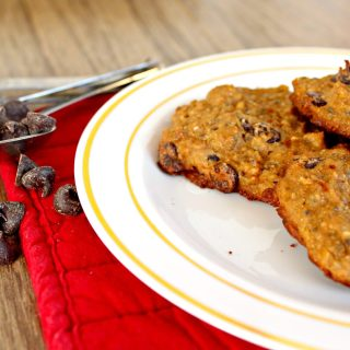 High Protein Chocolate Chip Cookies
