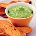 Broad Bean Dip With Focaccia Toasts