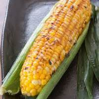 Barbecued Corn With Miso Butter