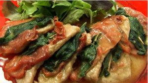 VEAL ESCALOPES WITH PARMA HAM AND SAGE