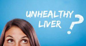 unhealthy liver