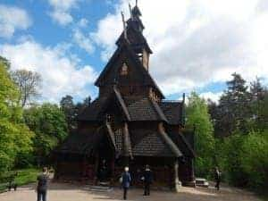 The Gol stave church