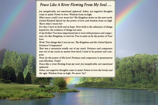 0 A Peace like a river on rainbow 1024