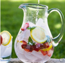 The Diet of the Common Sense - Fruit Infused Water1