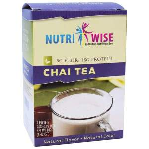 NutriWise High Protein Chai Tea With Fiber (7/Box) Image