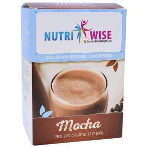 NutriWise Mocha 100 Calorie Meal Replacement (7/Box) Image
