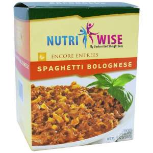 Spaghetti Bolognese Diet Entree (7/Box) Image