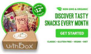 Urthbox Gluten-Free and Diet Snacks Image