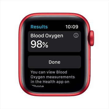 Apple Watch Series 6 Oxigen Function