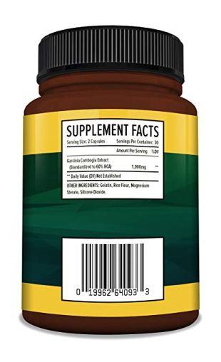 Cambogia Extract Formula - 60 High Potency Capsules