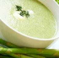Low-Calorie Creamy Asparagus Celery Soup Recipe