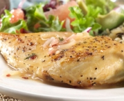 Seared Chicken Breast with Grapefruit-Mint Sauce Recipe