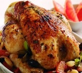 Roasted Chicken with Grapefruit Juice Recipe