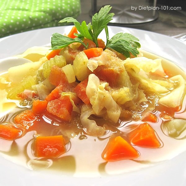 Recipes For Diet Cabbage Soup: Cabbage Soup Diet Spicy Cabbage Soup Recipe