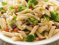 Penne Pasta with Artichoke, Broccoli and Parmesan (Diabetic Recipe)