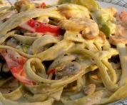 Low CarbCreamy Cajun Chicken Pasta Recipe