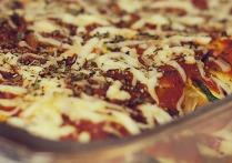 Ground Turkey Spaghetti Squash Lasagna (The Zone Diet Recipe)