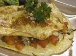 Low-Calorie Ratatouille Omelette Recipe