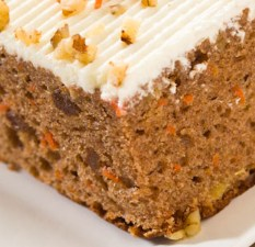 Gluten-Free Carrot Cake with Orange Cream Cheese Frosting Recipe
