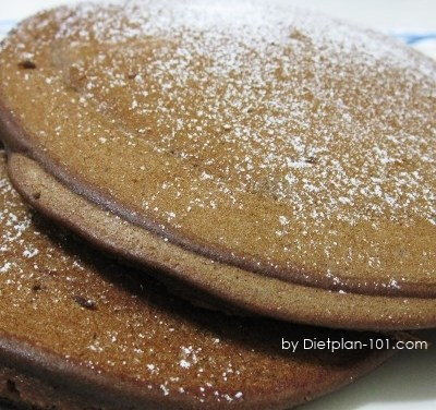 Chocolate Soy Pancakes (Atkins Diet Phase 1 Recipe)