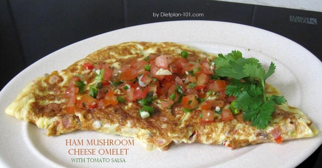 ham-mushroom-cheese-omelet-salsa-fb