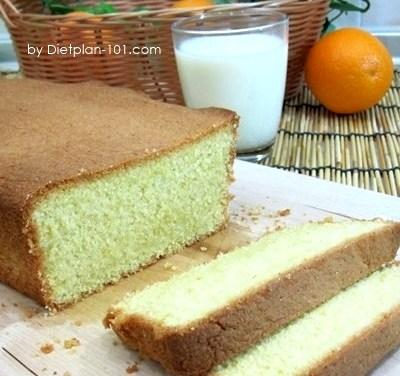 Gluten-Free Orange Butter Cake Recipe