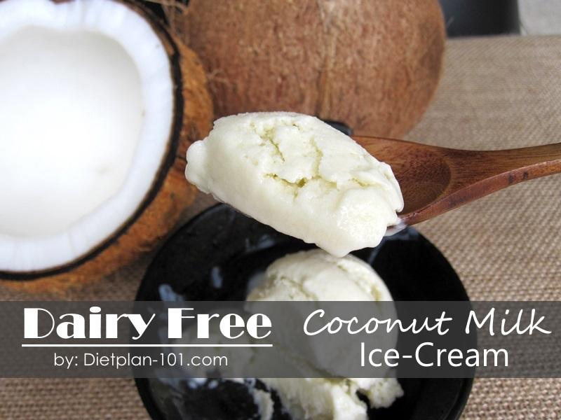 Dairy-free Coconut Ice-cream