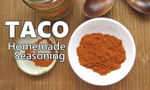 How to: Homemade Taco Seasoning Mix, You'll Love This