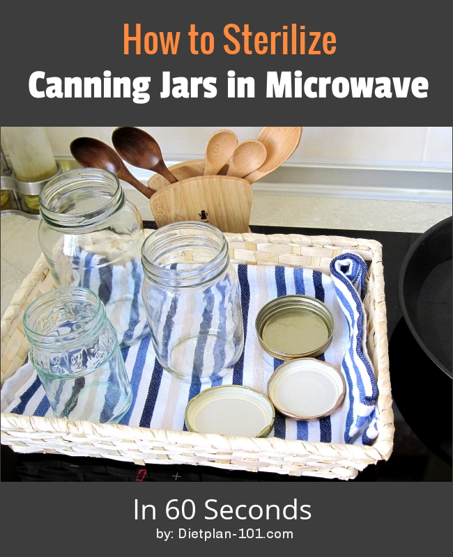Sterilize Canning Jars Steps