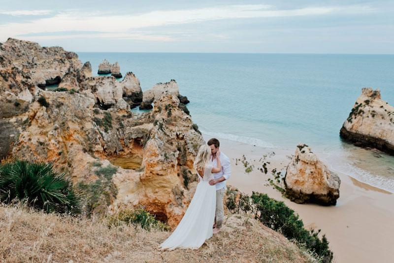 Hochzeit Am Strand Freie Trauung In Portugal Mit Yvonne Marcel Youtube
