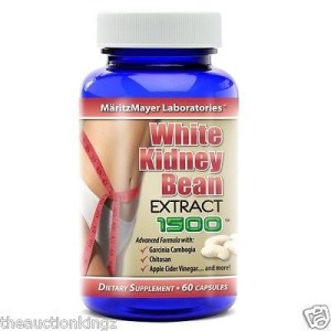 White Kidney Bean Extract w/ Garcinia Cambogia Carb Blocker Diet Weight Loss