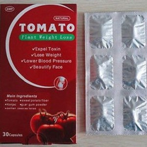 Tomato Herbal Natural Plant Slim Weight Loss Diet Pills, Capsules Free Shipping